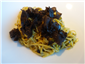 linguine with black truffles